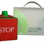 Polypropylene document box with handles